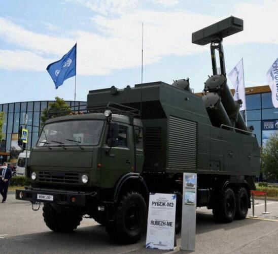 Береговой тактический ракетный комплекс «Рубеж-МЭ»