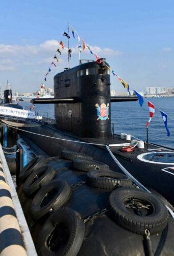 Подводная лодка «Санкт-Петербург» проекта 677 на МВМС 2021