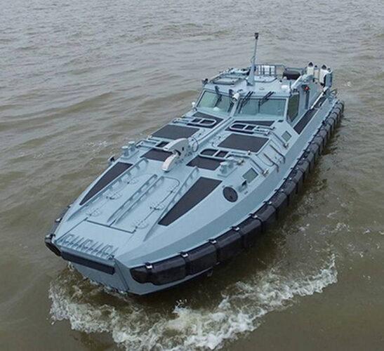Десантно-штурмовая лодка  проекта  02800