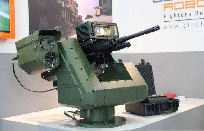Оружейная станция PITBULL от General Robotics