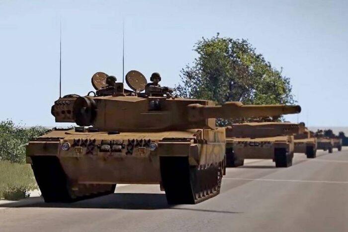 Основной боевой танк «Леопард 2» СВ ВС Турции