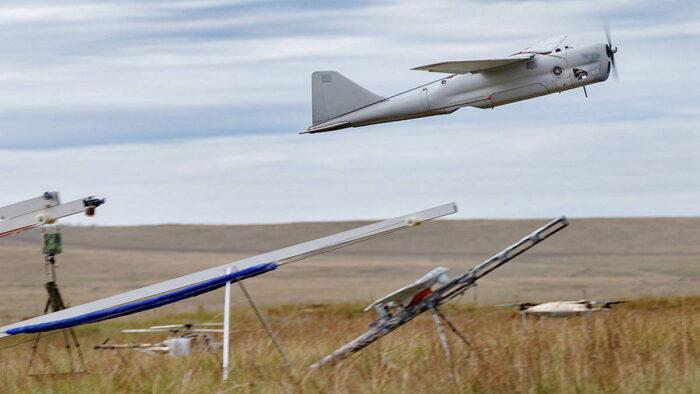 Российский БПЛА «Орлан-10»