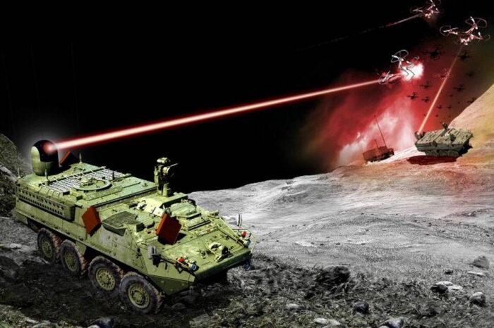Тактический лазер