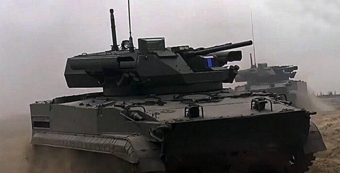 БМП Б-19 на ССУ «Запад-2021»