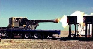 Рельсрвая пушка испытание