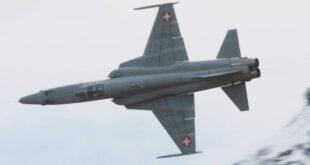 Истребитель ВВС Швейцарии F-5E