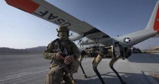 Роботы собаки ВВС США