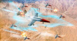 Рой дронов против ПВО противника